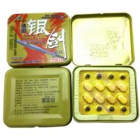 Wholesale Silver Sword Natural Male Penis Enlargement Pill Anti Erection Dysfunction from china suppliers