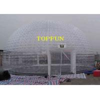 Wholesale 8m Diameter Inflatable Party Tent Clear Dome Tent Noncontinuous Type from china suppliers