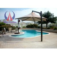 Wholesale Strong Wind Resistant Sail Umbrella Shade Structures With Metal Frame from china suppliers