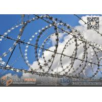 Concertina Razor Wire Coil BTO-15 China Supplier