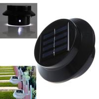 Wholesale Solar fence Roof Gutter Garden Wall Lamp Path Lighting from china suppliers