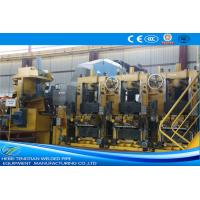 Wholesale Large Size Yellow ERW Pipe Mill Pipe Making Machine Round Shape Max 25m / Min Speed from china suppliers
