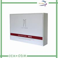 Wholesale White Cardboard Cosmetic Gift  Package Box With EVA Foam And Ribbon from china suppliers