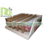 Quality USB Disk Carton Box Cardboard Counter Displays One Direction With Metal Hook ENCD076 3D for sale