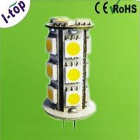 Wholesale Dimmable Aluminium 18pcs SMD3528 Ceiling G4 LED Lamps Lighting Bulbs 12v 1w 100lm OEM from china suppliers