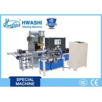 Quality HWASHI Glass Lid Stainless Steel Belt Capacitor Discharge Welding Machine for sale