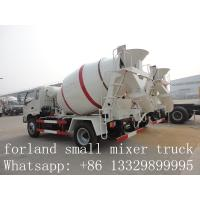 Wholesale forland LHD 4*2 3cbm-4cbm concrete mixer trucks for sale from china suppliers