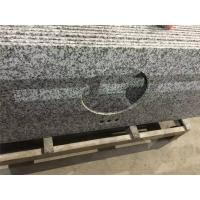 Wholesale G439 Big Flower White Granite Bathroom Vanity Tops Toilet Washroom from china suppliers
