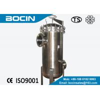 Wholesale Multi stainless steel water filter housing BOCIN pp pleated / filter cartridge housing from china suppliers