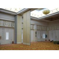Wholesale Veneer Gypsum Acoustic Folding Partitions , Accordion Folding Partitions For Restaurant from china suppliers