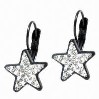 Wholesale Star Earrings, Customized Sizes and Logos Welcomed from china suppliers