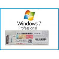Wholesale Microsoft Windows 7 Product Key Code Win7 Professional Genuine OEM License Activation Online from china suppliers