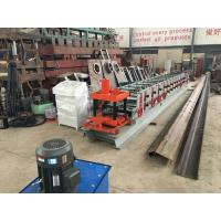 Wholesale Fully Automatic C Purlin Roll Forming Machine 1.5T Capacity With Switch Easily from china suppliers