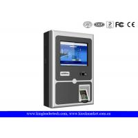 Wholesale 17 Inch Wall Mount Kiosk With Thermal Receipt Printer , PIN Pad And Card Reader from china suppliers