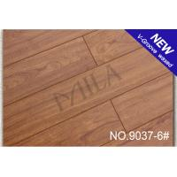Wholesale Matt glossy V-groove Laminate Flooring 9037-6# 12mm with CE from china suppliers