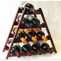 Buy cheap wooden wine bottle stand,wine display racks,wine display custom from wholesalers