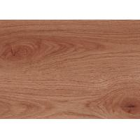 "Wooden Pattern PVC Vinyl Flooring 7.25"" X 48"" Free Sample Wear Resistant"