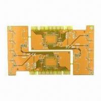 Wholesale Double-sided PCB with FR-4 Base Material and Yellow Solder Mask Color from china suppliers