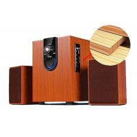 Wholesale High Performance 2.1 PC Speakers System With Subwoofer Wood Construction from china suppliers