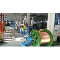 Wholesale Sky Blue Power Wire Extruder Machine for Single Wire Dia 6-25mm Max Speed 500M/min from china suppliers
