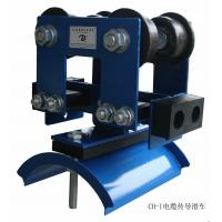 I beam cable festoon system trolleys for overhead