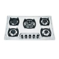 Wholesale Five Burner Gas And Electric Hob Combined With Cast Iron Round Pan Support from china suppliers