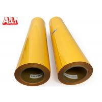 50cm*25m 27 yards golden yellow PU heat transfer vinyl for clothes