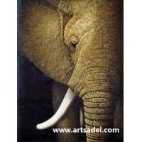 Wholesale 100% Handmade Animal Oil Painting On Canvas from china suppliers