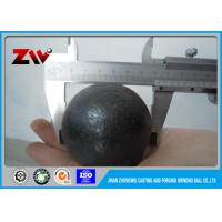 Wholesale Cement plant high chrome casting grinding steel ball / ISO 9001-2008 from china suppliers