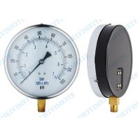 Quality Low Pressure Air Gauge General Pressure Gauge Professional 6 Inch CE Standard for sale
