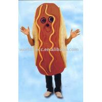 Buy cheap Fur bread mascot costume, Plush mascot costumes, Advertising mascot costume,Custom costume from wholesalers