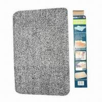 Wholesale Magic Clean Step Mat, Made of 55% Cotton and 45% Microfiber from china suppliers