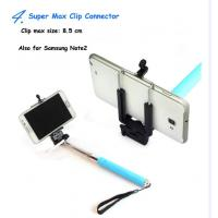 Wholesale Smartphone Selfie Stick Monopod , Cable Take Pole Handheld Monopod from china suppliers