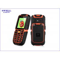 Wholesale Dual Sim Rugged Rubber Dustproof Military Grade Cell Phone S6 Surpporting MP3 from china suppliers