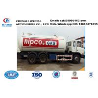 Wholesale factory sale good price customzied 10 tons bulk lpg gas dispenser truck Dongfeng10mt dispenser lpg gas tank truck from china suppliers