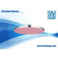 Quality Home Round Overhead Shower Head ceiling mounted color lights for sale