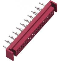 Wholesale Straight DIP Micro Match Connector Red PA46 GF UL94V-0 With Latch from china suppliers