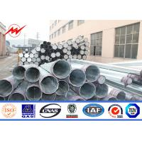 Wholesale NEA 8 Sides Painting Steel Utility Pole for Electrical Power Distribution from china suppliers