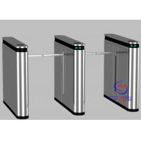 Wholesale Intelligent Walk Through One Arm Turnstile , Full Automatic Turnstile for Bank from china suppliers