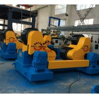 Quality Coated PU Wheel Self Aligning Rotator , Pipe Welding Rollers 400mm Diameter for sale