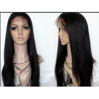 Wholesale Smooth And Luster Natural Human Hair Front Lace Wigs For Women from china suppliers