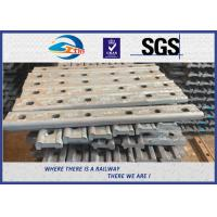 Wholesale TUV Oxide Black Forging 4 Holes 50# Joint Bar Fishplates In Railway Tracks from china suppliers