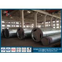 Wholesale Electric Hot Dip Galvanized Steel Power Poles For Power Transmission Line With Bitumen from china suppliers