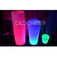 Buy cheap Led Paito Furniture Corner Decoration Led Flower Pot KFP - 4387 , anti - UV from wholesalers