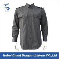 Wholesale Lightweight Twill Long Sleeve Military Tactical Shirts / Combat Shirts With 2 Chest Pockets from china suppliers