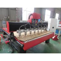 Buy cheap multi head cnc wood carving machine GK-1820D-8 / Cnc router multi head from wholesalers