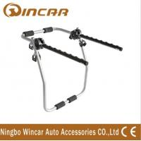 Wholesale Iron Can Load 3 Bicycles Rear Bike Rack Bike Carrier without lock from china suppliers