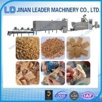 Wholesale Automatic textured soya protein vegetarian soya meat food extruder machine from china suppliers
