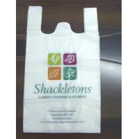 Custom printed t shirt plastic bags packaging small bags for Personalized t shirt bags