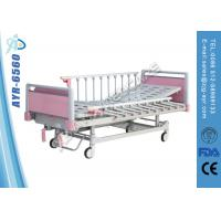 Buy cheap 2 Functions Manual Collapsible Pediatric Hospital Bed With Side Rails from wholesalers